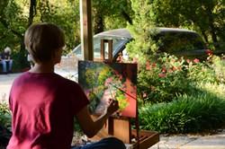 art workshop, Eureka Springs