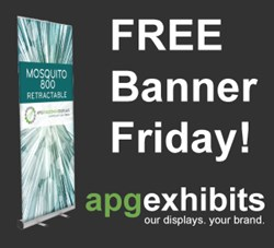 FREE Banner Stand Display Friday