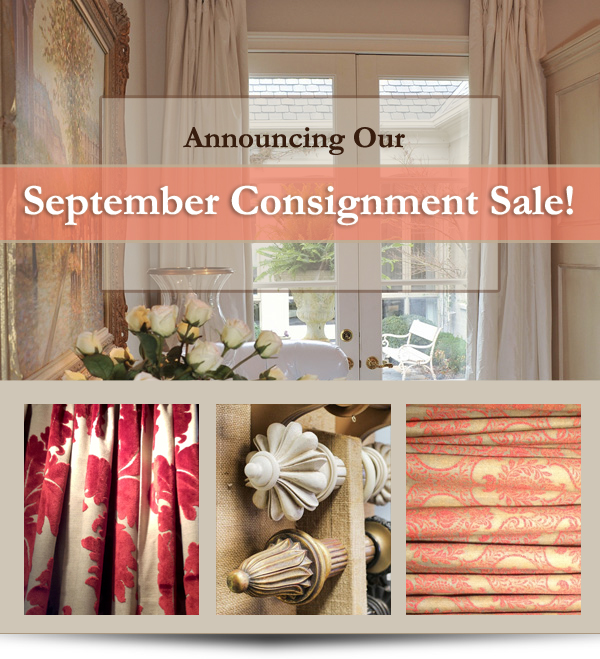 Atlanta Luxury Curtain Store Offers Sale On Consignment
