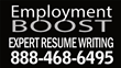 Top Resume Service, Employment BOOST offers Huge Sales on Professional and Executive Resume Writing Services on Monday.