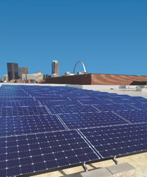 Frost Supply and Microgrid Solar have teamed up to bring solar power products to business owners in the St. Louis metro area.