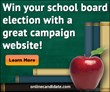 School Board Campaign Websites