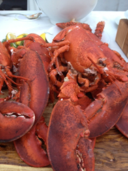 Next-day delivery of live Maine lobsters from GetMaineLobster.com
