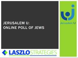 Jerusalem U online poll, Jewish education, Israel education, Jewish and Israel identity