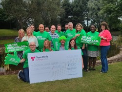 Open Study College raised over £10,000 for Macmillan Cancer Support