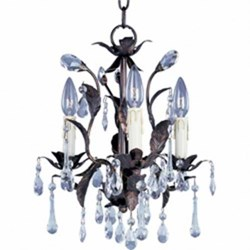 maxim lighting mini chandelier