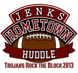 Jenks Hometown Huddle sponsored by Bill Knight Ford