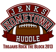 2013 Jenks Hometown Huddle Trojans Rock the Block