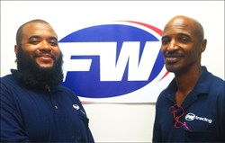 St. Louis trucking company FW Trucking's Jeremy Jones and Reggie Ewing: Good Samaritans and Heroes