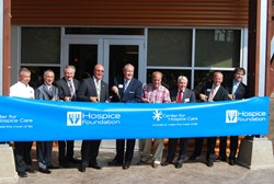 Ribbon Cutting at Center for Hospice Care