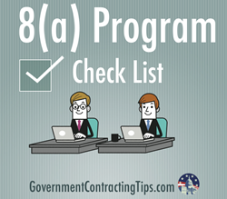8(A) PROGRAM CHECK LIST