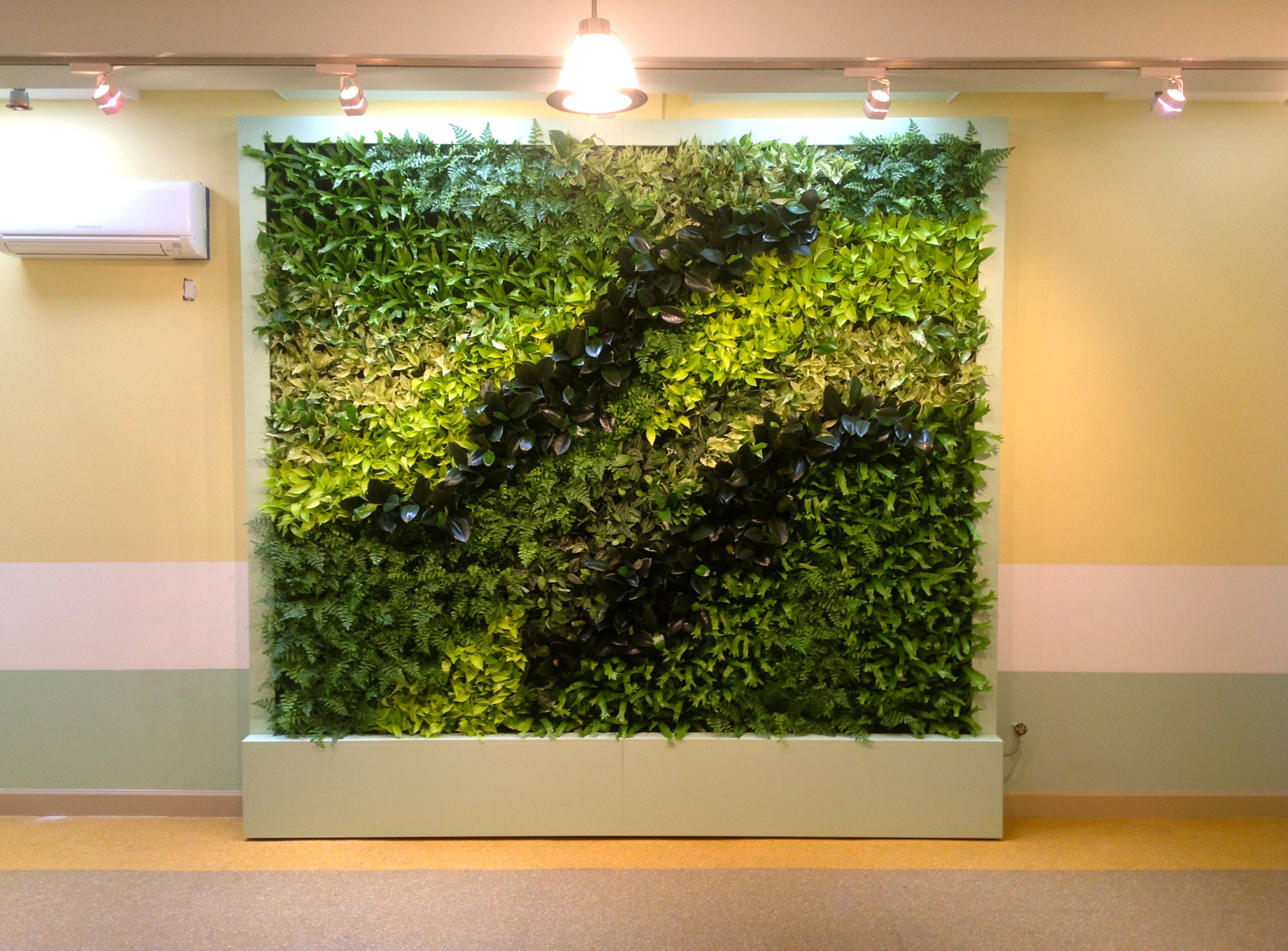 New brooklyn preschool of science gets the green wall Green walls vertical planting systems
