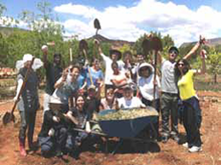 Earth Citizen Leadership Course Participants Summer 2013
