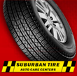 Now Is The Time To Purchase Tires From Suburban Tire Auto Care Centers...