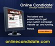 Political Campaign Resources Included With Online Candidate Website...