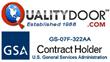 QualityDoor.com is GSA Approved