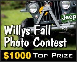 Willys Jeep Photo Contest
