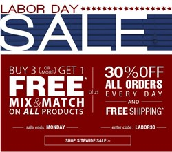 SelectBlinds.com Labor Day 2013 sale