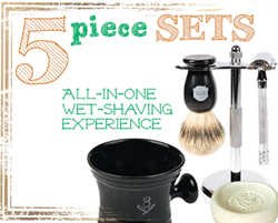 New complete shaving sets from Kaliandee