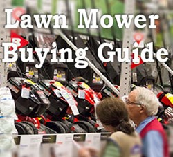 2013 Lawn Mower Buying Guide