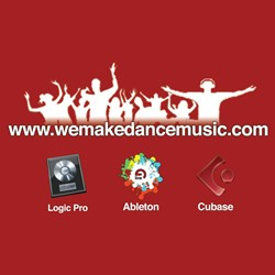 We Make Dance Music Logo