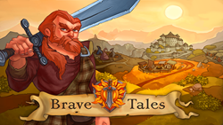 Brave Tales: social RPG game on Facebook published by Renatus Media, LLC