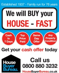 House Buyer Bureau - classified advert