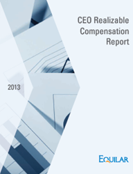 2013 CEO Realizable Compensation Report