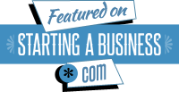 Featured on Starting a Business badge
