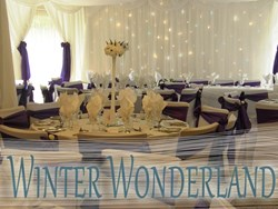 Winter Wedding Backdrops