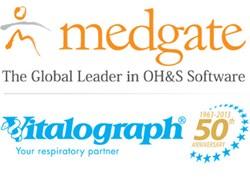 Medgate-Vitalograph Parthership (Logos)
