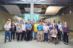 Startup Weekend Baton Rouge participants