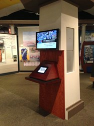 iPad Kiosk Display Station