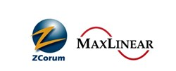 ZCorum and MaxLinear Logos
