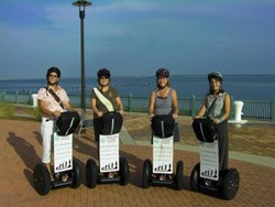 Wine and Glide Segway Tour, Pensacola, FL