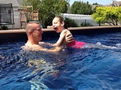 endless pool, cerebral palsy, aquatic therapy, water exercise, swimming pool, therapy pool, swim therapy
