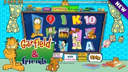 "Slots Craze ""Garfield & friends"" slot machine"