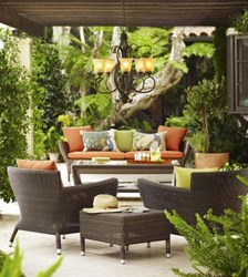 Outdoor Furnishings for the Labor Day BBQ - Styles That Last All Year Long