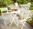 Outdoor Decor and Entertaining Use Comfortable Furniture and Reusable Serveware