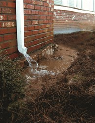 Knoxville homes and drainage issues