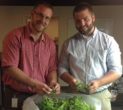 Dennis Riling and Tim Sulzer Veg-e Systems Hydroponic Farming.