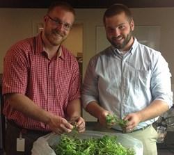 Dennis Riling and Tim Sulzer Veg-e Systems Hydroponic Farming.