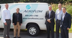 Congressman Meadows with the Aeroflow Healthcare executive team.
