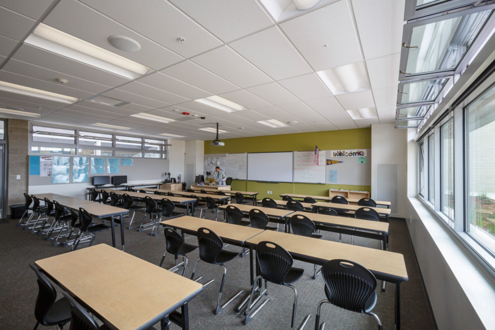 Classroom Ventilation Design ~ A milestone for montgomery middle school