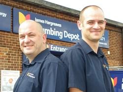 Chris Webster (right) and Steve Richardson