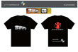 Printed T shirts for ITV and Save The Children