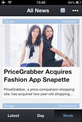 startup news app