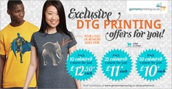 Direct to garment printing t shirt printing offers for students