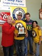 The Great Pumpkin Farm 2012 World Hands-Free Pumpkin Pie Eating Championship winners