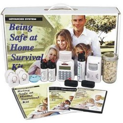 The SafeFamilyLife™ Being Safe at Home Survival Kit - Advanced System contains a full range of products to help thwart off personal attacks and safeguard property.